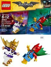 LEGO 30607 The Batman Movie Disco Batman & Tears Of Batman Polybag 2 Minifigures
