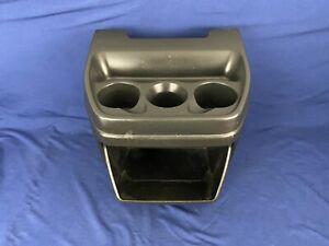 03-18 Chevrolet Express GMC Cargo Van Black Center Cup Holder Console 720