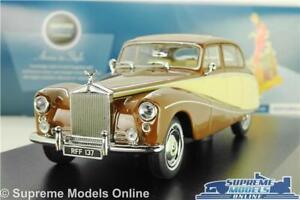 ROLLS ROYCE SILVER CLOUD HOOPER EMPRESS MODEL CAR BROWN 1:43 OXFORD 43EMP001 K8