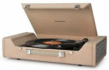 Crosley Nomad Portable USB Turntable Light Brown CR6232A-BR Plays 3 Speeds New