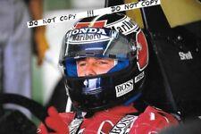 9x6 Photograph,Gerhard Berger  McLaren Helmet Portrait  1992 Grand Prix Season