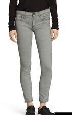 Rag & Bone Pinstripe Tomboy Skinny  Jean Size 26 Retail $198.00