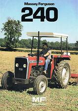 ▬► Prospectus Tracteur MASSEY FERGUSON MF 240  Prospect Tractor Traktor