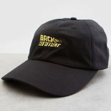 BAIT x Back To The Future Logo Dad Cap black