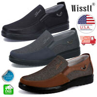 Fashion Men's Driving Moccasins Leather Casual Shoes Antiskid Loafers Slip on P1