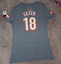 NEW NFL AJ Green Cincinnati Bengals Jersey Style T Shirt Youth Girls XL 16 NWT