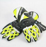 Spada Predator 2 Leather YELLOW Motorcycle Motorbike Sports Gloves - RRP: £79.99