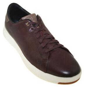 NEW Cole Haan Men's GrandPrø Tennis Sneaker Burnished Wine Style C31307 SIZE 12M