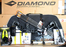2017 Diamond Bowtech Infinite Edge SB-1 Black BOW Package LH 7-70# LEFT HANDED