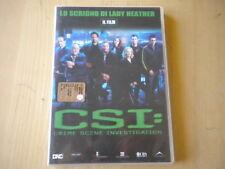 CSI. Crime Scene Investigation. Il film. Lo scrigno di Lady Heather DVD giallo