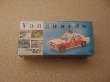 Ford Consul 3000 GT Lancashire Police Traffic Car - 1/43 Scale Vanguards VA55000