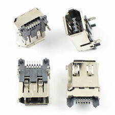 10Pcs USB 6 Pin Female SMT SMD Socket Connector Firewire IEEE 1394 Series
