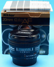 Nikon NIKKOR 20mm f/2.8 D CRC AF SIC Lens EXc+++++++++W/Caps in Box