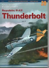 Republic P-47 THUNDERBOLT vol.2 Kagero (without decals) ENGLISH!