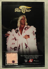 WWE 2K19 Ric Flair Robe Commemorative Plaque Purple sequins worn by him boxed
