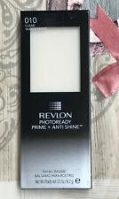 REVLON PHOTOREADY PRIME + ANTI SHINE Balm. 010 Clear/Transparent. Sealed x