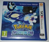 _( Pokemon Zaffiro Alpha x Console Nintendo New 3ds & 2ds Pal Eur ITA)_
