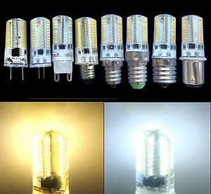 Dimmable GY6.35/G4/G8/G9/E11/E12/E17/BA15D/E14 white/warm 80 SMD LED Light Lamp