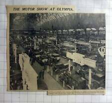 1927 Skylight View Of Olympia Motor Show, 500 Stands