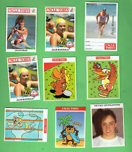 #D112.  NINE(9) UNCLE TOBYS OATS COLLECTOR  CARDS