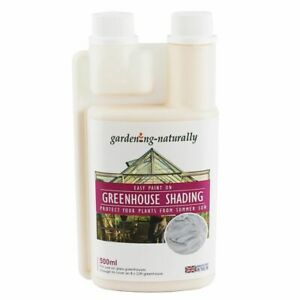 Greenhouse Glass Chalk Shading White Sun Plant Protection Makes 5 Litres