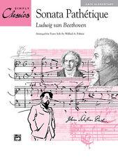 Sonata Pathetique Mvt.2 (simplemente Classics; Beethoven, L.v (+ arreglistas). - 14301