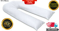 U Shape Pillows 9FT Large Full Body Back Support Maternity Pregnancy Comfort New