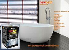 Standard Bath Resurfacing Kit Two-Component Enamel White Paint Renovation