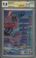 MIGHTY THOR #11 - CGC 9.8 - SIGNED BY STAN LEE ON HIS 94TH B-DAY - 1505959011
