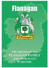Flanagan Irish Family Name History Booklet Covering the Ancestry of this Name