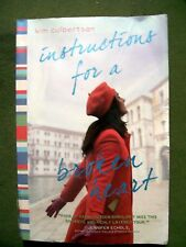 Instructions for a Broken Heart by Kim Culbertson (2011, Paperback)