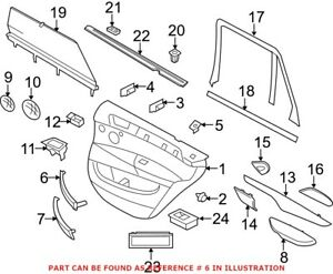 Genuine OEM Interior Door Pull Handle for BMW 51417345334