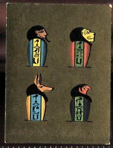 Tobacco Card, Cavanders, ANCIENT EGYPT, 1928, Large, #9