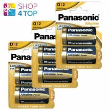 6 PANASONIC ALKALINE POWER D LR20 BATTERIES BLISTER 1.5V MONO R20 MN1300 AM1 E95