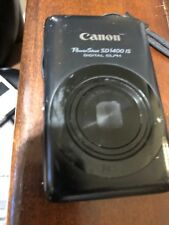 Canon powershot SD1400 IS digital elph black GREAT CONDITION