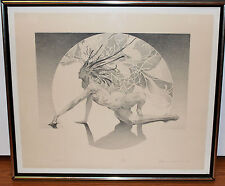 "James Drake ""Genesis"" Limited Lithograoh Print 02/30 1973 Signed and Dated"