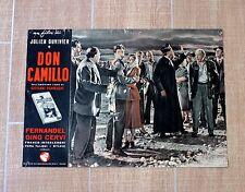 DON CAMILLO fotobusta poster affiche Fernandel Gino Cervi Interlenghi Q1