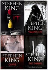 Stephen Kings 4 Books Collection Set Stephen Kings IT, The Shining, Salems Lot