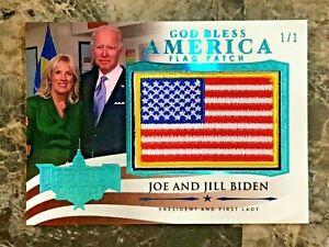 Joe & Jill Biden Decision 2020 SERIES 2 God Bless America #GBA66 ICE BLUE 1/1