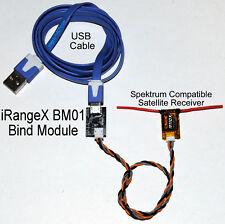 iRangeX BM01 Bind Module for Spektrum Compatible DSM2 DSMX Satellite Receivers