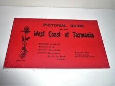 PICTORIAL GUIDE TO THE WEST COAST OF TASMANIA 1890s FACSIMILE EDITION  1971