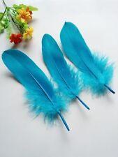 10pcs - Quality ROYAL BLUE Goose Feathers - 15-20cm