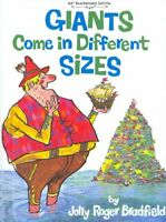 Giants Come in Different Sizes, Hardcover by Bradfield, Jolly Roger, Like New...