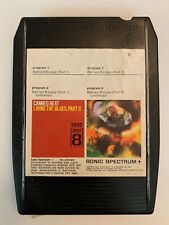 CANNED HEAT  Living The Blues  Part II   8 Track Tape  Liberty 1968 RARE