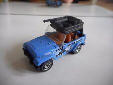 Matchbox Jeep Wrangler in Blue