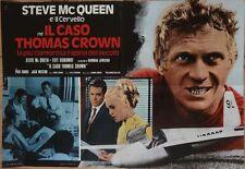 THOMAS CROWN AFFAIR Italian fotobusta photobusta movie poster 2 73 STEVE McQUEEN