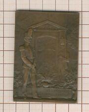 jolie plaquette par Dautel centenaire de St Cyr 1808 -1908