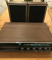 Vintage 8 Track AM / FM Soundesign Multiplex with working speakers tested !