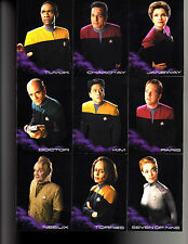 Star Trek Voyager Heroes and Villains Black Gallery cards YOU MUST PICK ONE