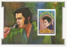 ELVIS PRESLEY HISTORY OF THE BLUES MINT UNMOUNTED MINIATURE STAMP SHEETLET